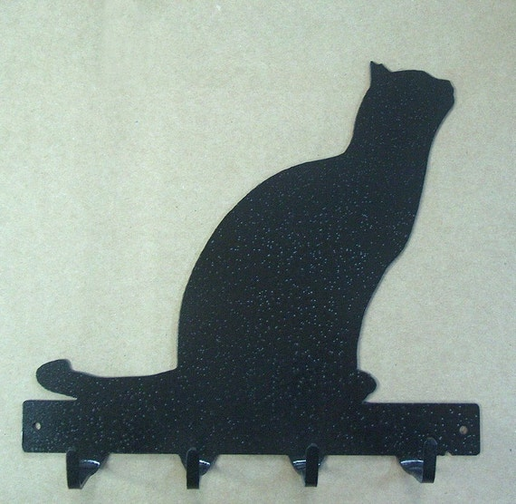 Cat Metal Art Key Rack - Free USA Shipping