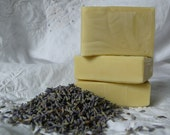 Lavender Organic Olive Oil and Beeswax Soap - Handmade