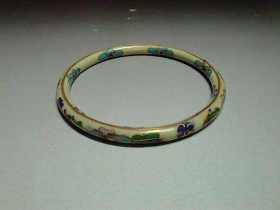 Vintage Childs Ceramic  Bracelet