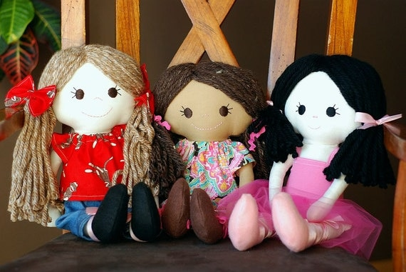 Custom cloth doll- you choose features adoption fundraiser