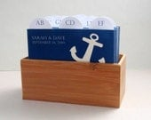 Wedding Guest Book Box and Sign - Anchors Away (Nautical Theme)