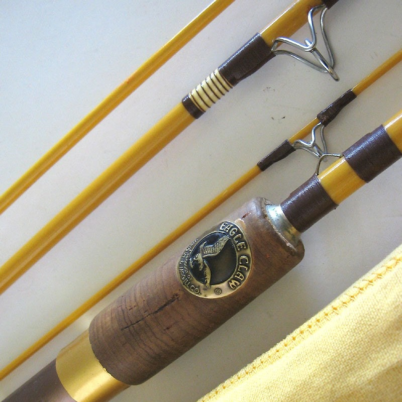 Fishing rod eagle claw trailmaster wright and mcgill Eagle claw fishing pole