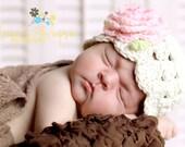 Baby Girl Hats, Baby Girl, Newborn Baby Hat, Baby Girl Beanie, Crochet Baby Hats