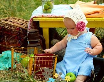 Baby Girl Pixie Hat, Crochet Baby Hats, Pixie Beanie, Pixie Bonnet, Baby Girl Hats, Hats for Babies, Hats for Girls