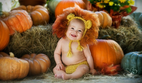 Baby Boy, Lion Hat, Crochet Baby Hats, Lion Set, Diaper Cover, Lion, Baby Boy Hats, MADE TO ORDER