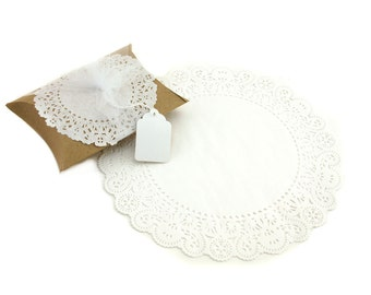 "10"" Round Paper Doilies (100)"