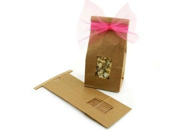 1/2 lb Kraft Tin Tie Bag (12)