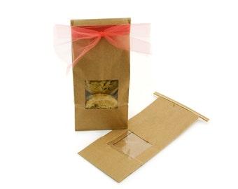 1 lb Tin Tie Kraft Bag (12 qty)