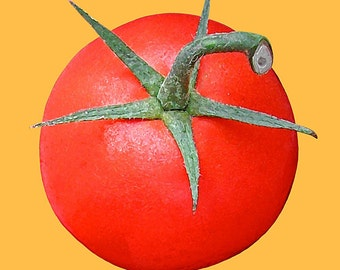 Tomato,Red,Digital Photography,Fine Art Photography,Watercolor,Wall Art,Home Decor,Giclee Print