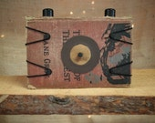 Zane Grey - Hardback Book Pinhole Camera
