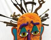 Mechanically Minded - Orginal Outsider Folk Art Sculpture