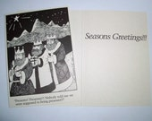 5 x 7 Presents, Presents...  Boxed Holiday cards