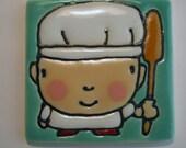 2.5 square The Baker Man