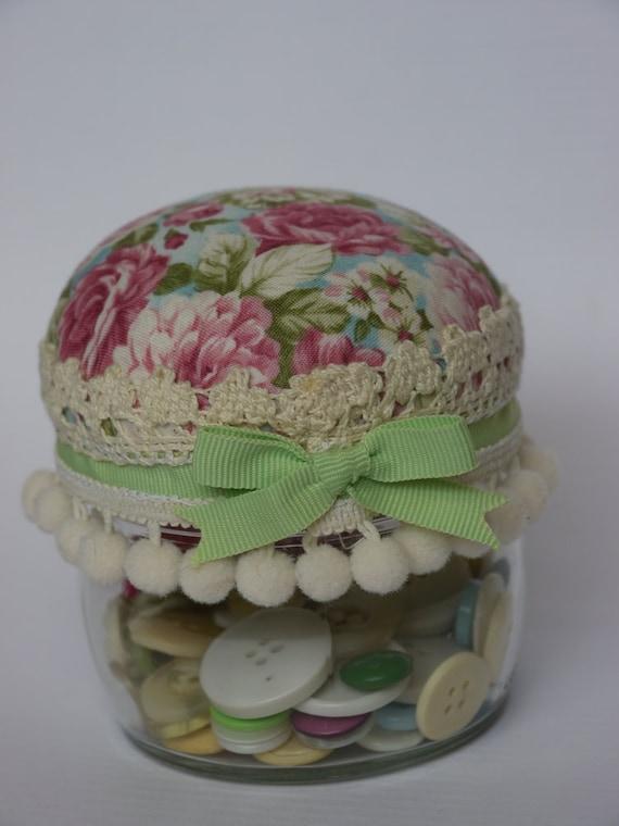 Jar pincushion 1