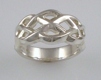 Celtic collection - Sterling silver ring 04