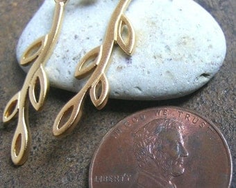 Gold Filled Branch Earrings(one pair)