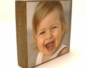 Set of 3 Custom Large Photo Blocks - Display Family, Wedding and Vacation Photos