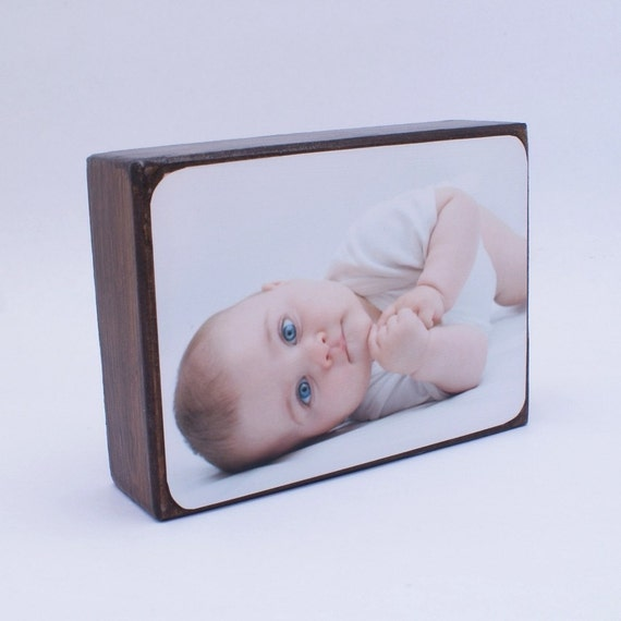 Personalized Photo Block - Display Family, Wedding and Vacation Photos