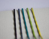 24 Mix & Match Colored Bobby Pins