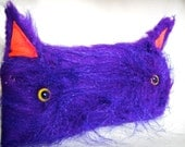 Purple Cat Pouch