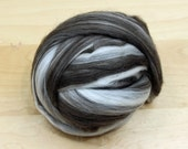 Merino/ Yak Top - Roving - Undyed Spinning Fiber (4oz)