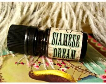 siamese dream - natural perfume oil - 1/6 oz - allspice, coconut, vanilla and tonka
