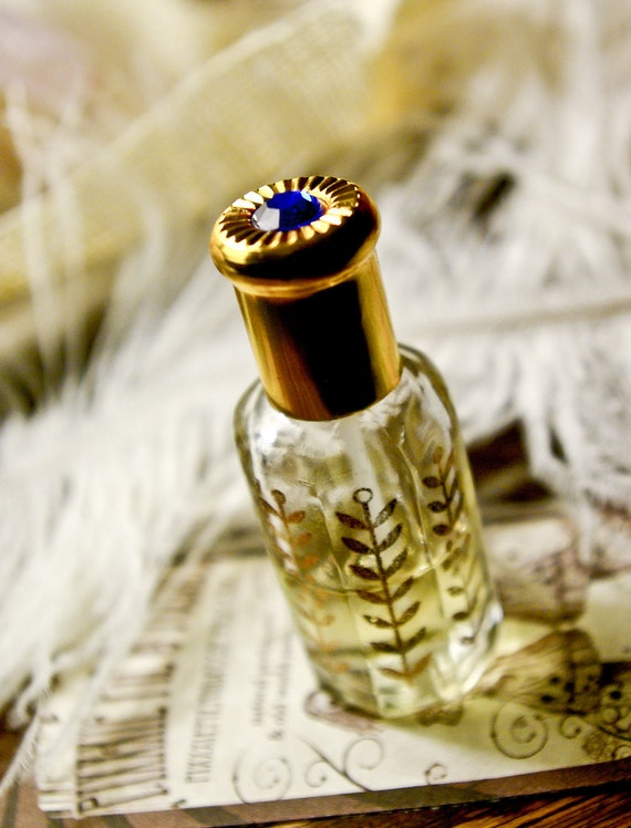 the bollywood bottle - natural perfume oil held captive in exotic 1/2 oz octagonal bottle - over 60 victorian inspired aroma blends