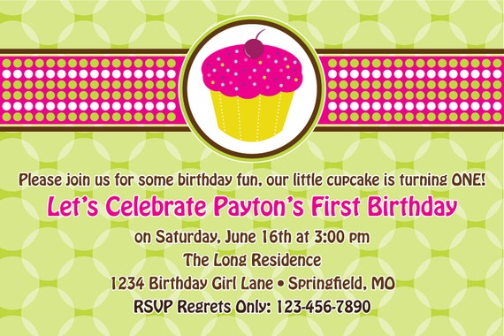 DIY Printable Birthday Invitation - Printable Party Invitation 4 X 6 or 5 X 7.....by Maxim Creative Invites