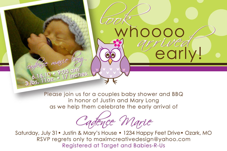 Baby Shower E Invite is good invitations sample