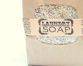 3lb BULK Laundry Soap-  Homemade laundry soap / no detergents Spring Cleaning eco friendly