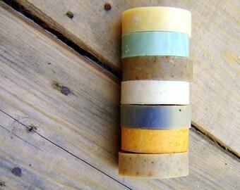 Vegan Olive Oil Soap  / Eco Friendly Home / Variety Pack / Soap Sampler Set