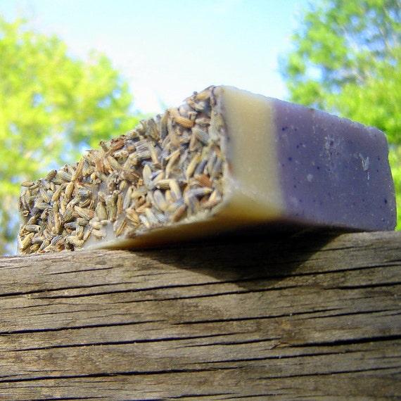 Lavender Soap- MEDITATION. Sandalwood Natural Soap