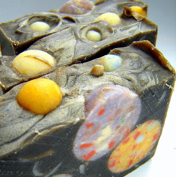 Space Soap - Outa this world constellation space travel -bay rum spice handmade soap -SPACE COWBOY