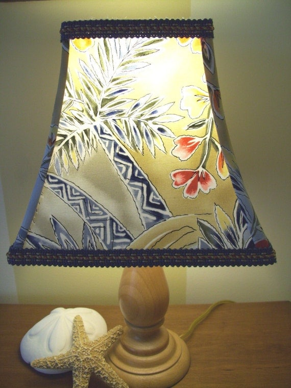 Lampshade Tropical Palm Tree Lamp Shade Beach House