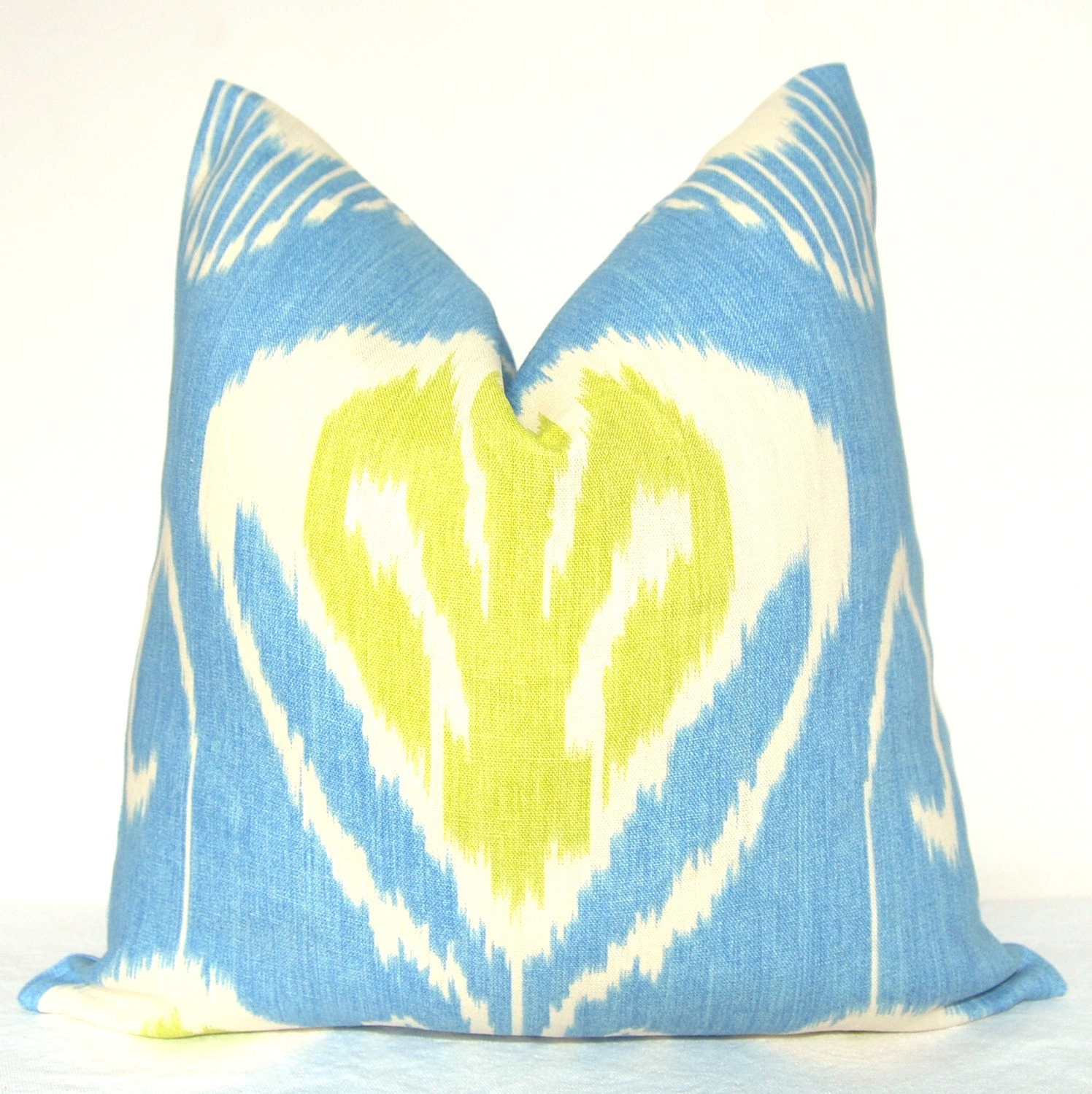 Handmade Ikat Throw Pillows : Kravet Ikat Pillow Handmade in USA Pillow Cover Decorative