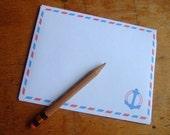 Anchor Letter Writing Set - Printable PDF