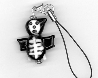 Bonz in the Hoodie Cell Phone Charm or Zipper Pull