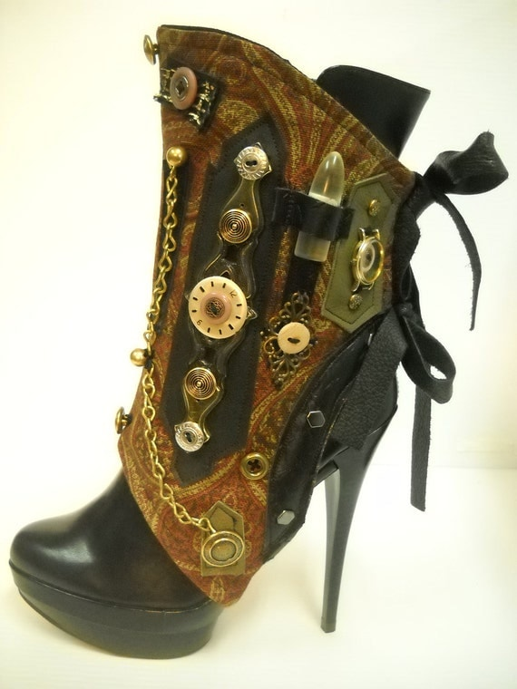By J. Souza - Steampunk - spats- one-of a kind- ref st10-