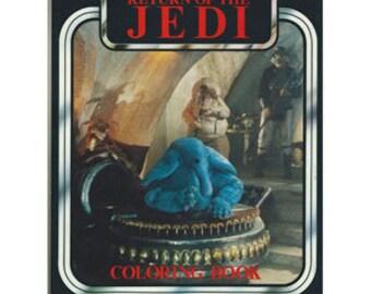 Star Wars Coloring Book- Return of the Jedi -Deadstock 1983