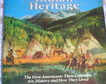 1978, America's Fascinating Indian Heritage by Reader's Digest, HC, DJ
