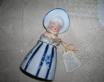 Royal Majestic Bell--Little Miss with Her Hymnal or Bible