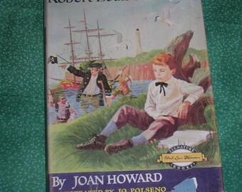 1958, HC, The Story of Robert Louis Stevenson by Joan Howard, Signature Books for Children, DJ