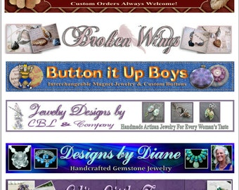 Custom Banners for your On-Line Shop