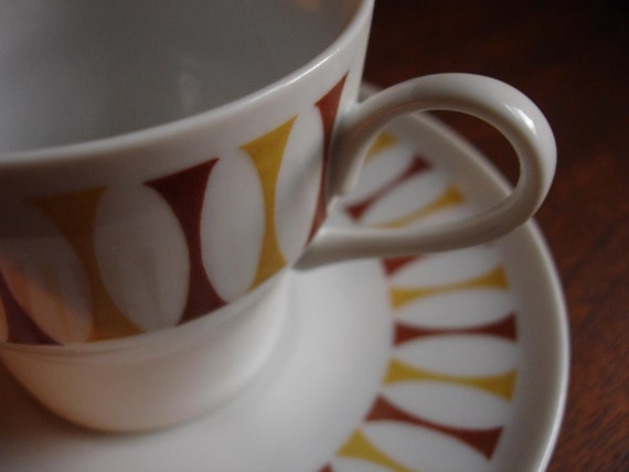 Mid Century Modern Paul Mccobb contempri cup and saucer...