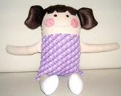 Sasha - All Fabric Doll