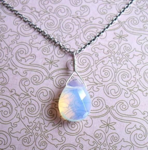 Sea Opalite Pendant