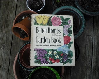 Vintage Book Gardening Better Homes and Gardens