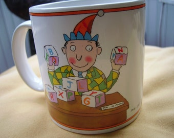 Vintage Mug Coffee Cup Office Joker Gag Gift