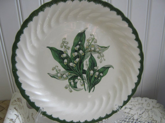 Vintage Lily Of Valley Plate Royal China