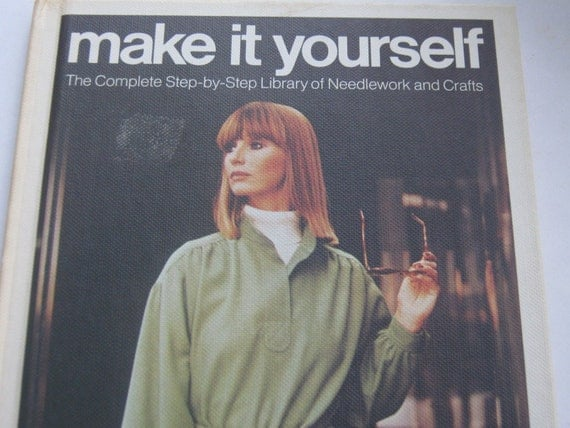 Vintage Book Crafts and Needlework Make It Yourself Vol 14